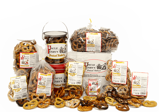 selection of handmade pretzels
