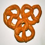 hard pretzels with no salt